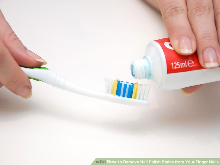 Image Led Remove Nail Polish Stains From Your Finger Nails Step 3