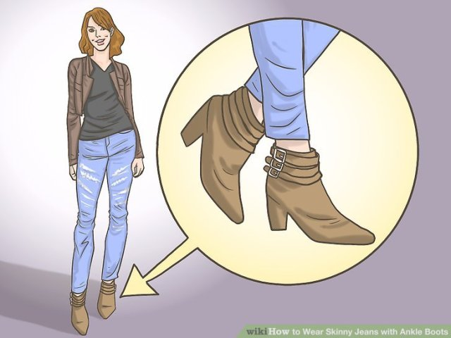 Wear Skinny Jeans with Ankle Boots Step 8.jpg