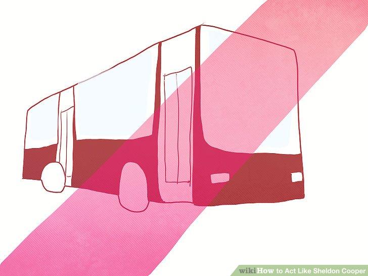 Niemals öffentliche Verkehrsmittel benutzen.