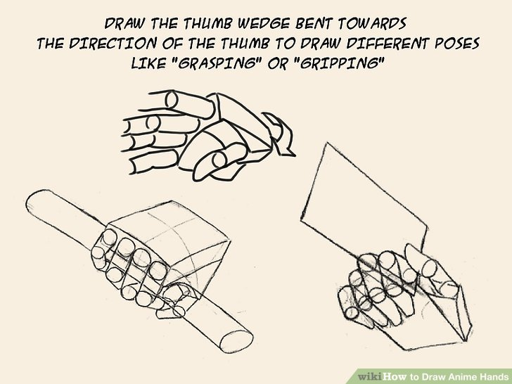 How To Draw Anime Hands Practical Information
