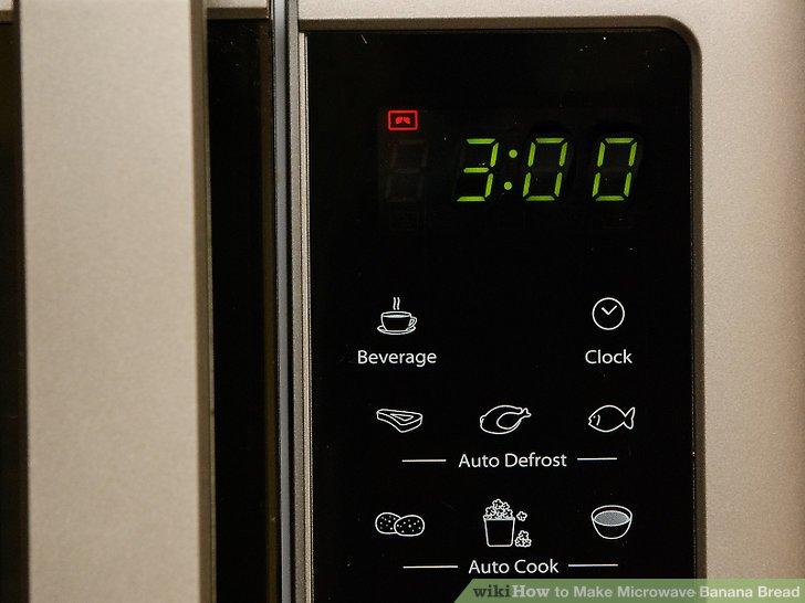 Kochen Sie das Brot 3 bis 3 ½ Minuten in der Höhe.