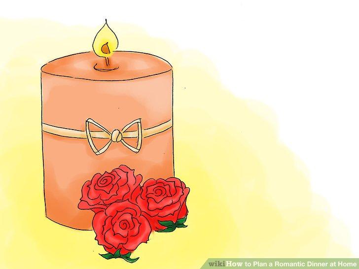 Wählen Sie Ihre romantische Dekoration.