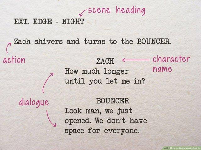 6 Ways to Write Movie Scripts - wikiHow
