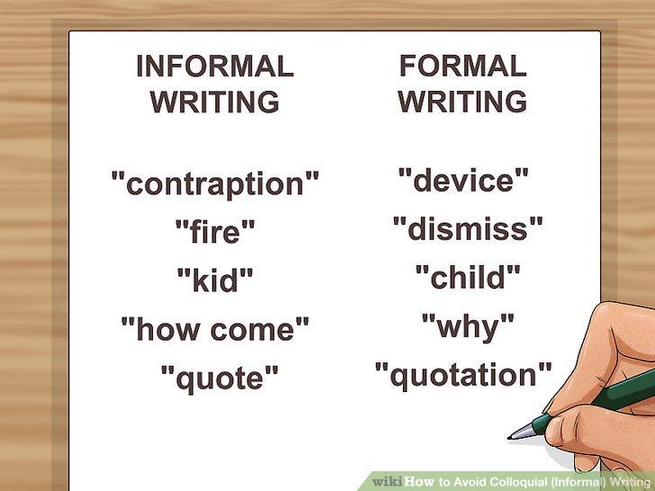 Verstehen Sie den Unterschied zwischen formellem und informellem Englisch.