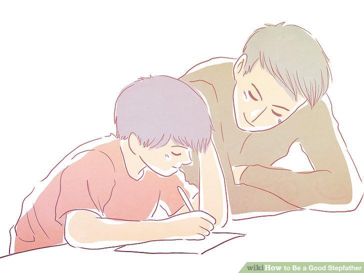 Verbringen Sie Zeit mit dem Stiefkind in seinen oder ihren Aktivitäten.