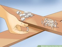 3 Ways to Build Your Own Coffee Table - wikiHow