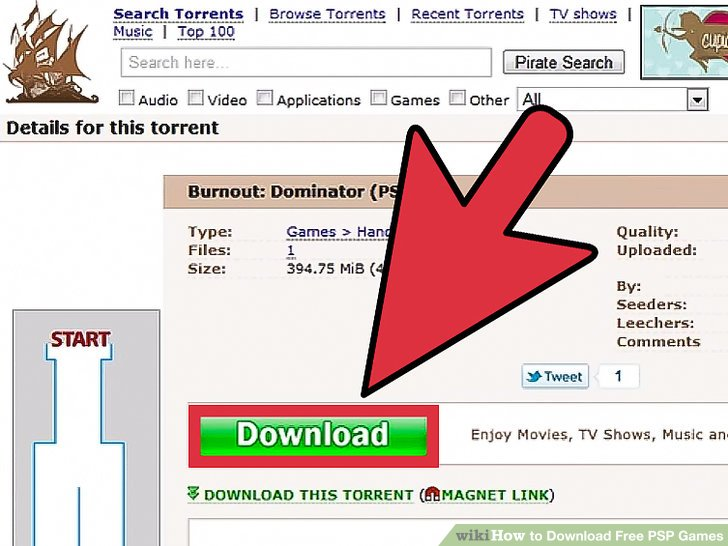 How to download free psp games on psp internet.