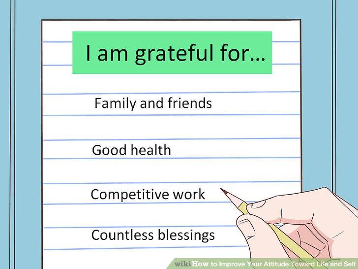 Dankbarkeit kultivieren.