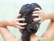 5 ways wash hair dye - wikihow