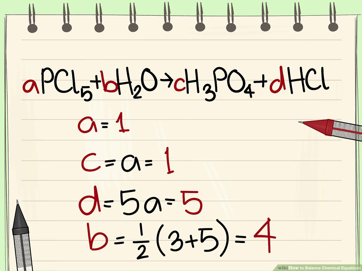 hight resolution of How to Balance Chemical Equations: 11 Steps (with Pictures)