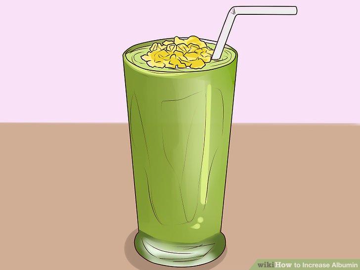 Machen Sie proteinreiche Smoothies.