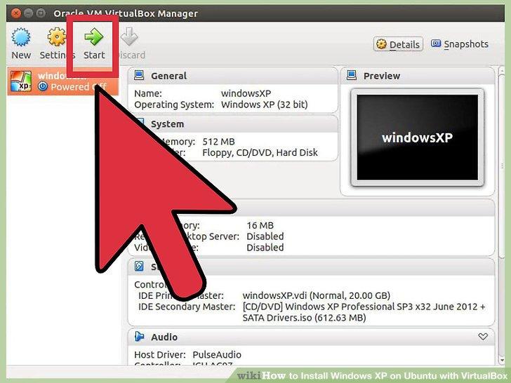 How to Install Windows XP on Ubuntu with VirtualBox: 12 Steps