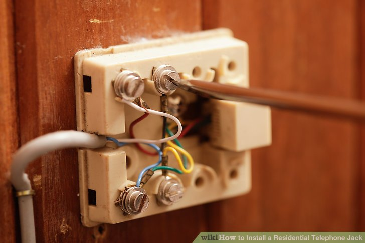 Wiring Up A Telephone Jack