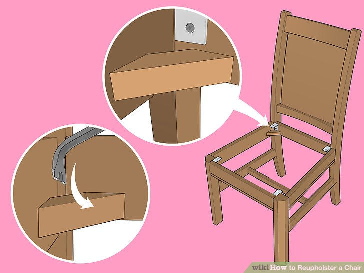 how to reupholster a chair cushion corner double lawn with cooler the best way wikihow image titled step 25