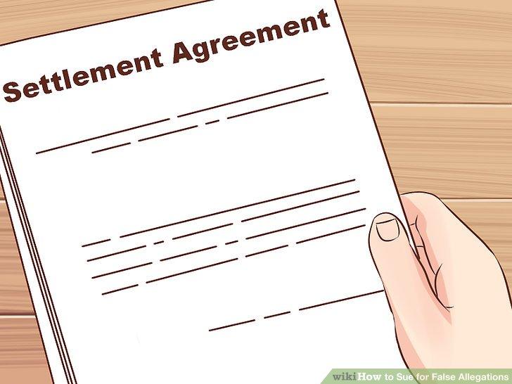 Erhalten Sie eine Einigung schriftlich.