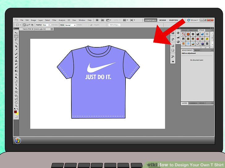 How to Design Your Own T Shirt