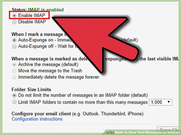 How to Save Text Messages on Android - Practical Information