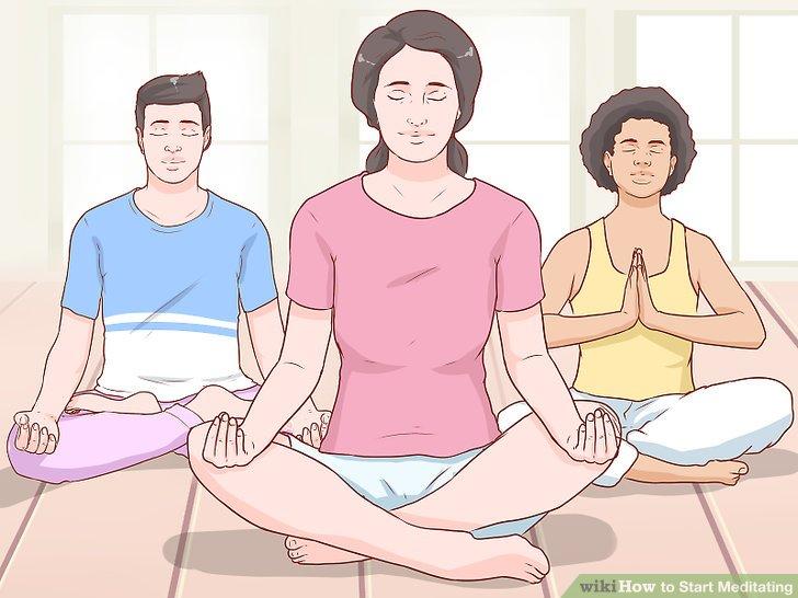 Find a meditation instructor or meditation class.