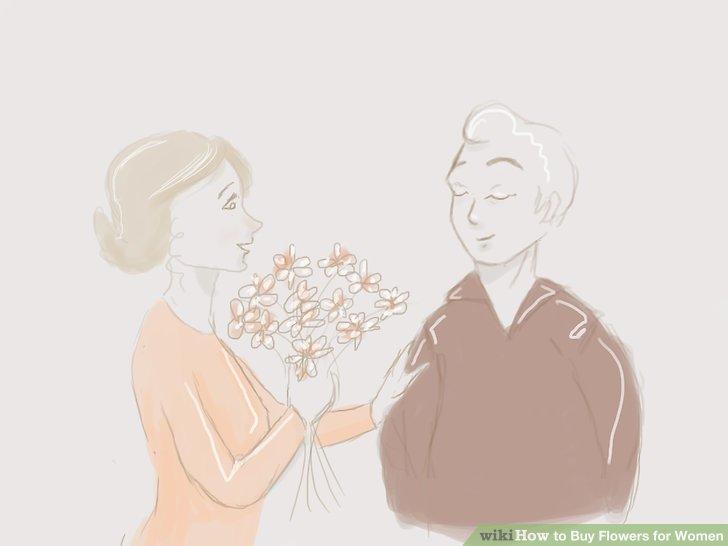 Überlegen Sie sich, wer sie ist, bei Ihrer Blumenwahl.