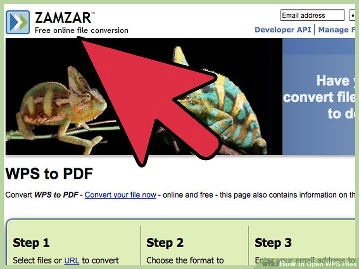 Navigate to the file viewer website of your choice.