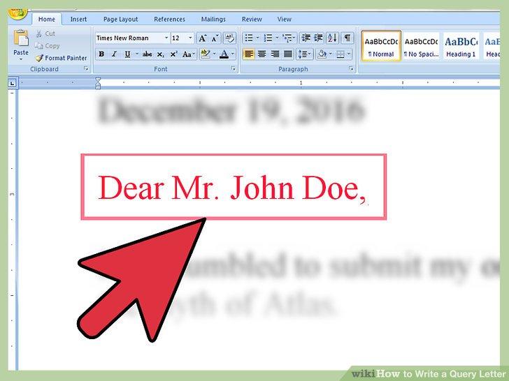 Wie Ist Es Gemacht Wie Man Eine Abfrage Schreiben Brief