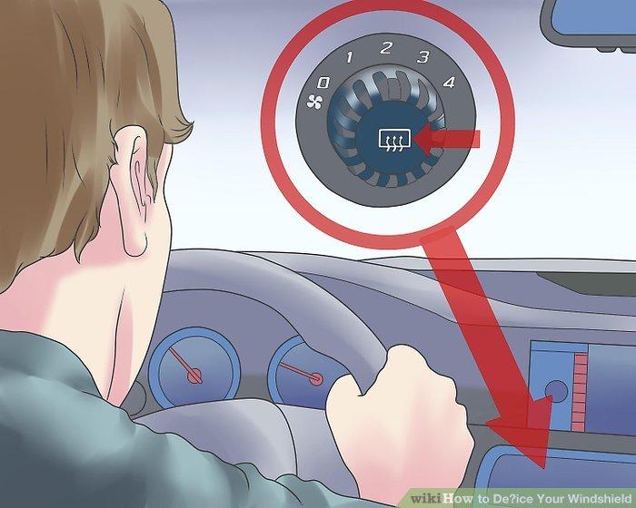Starten Sie Ihr Auto und lassen Sie es im Leerlauf warm werden.