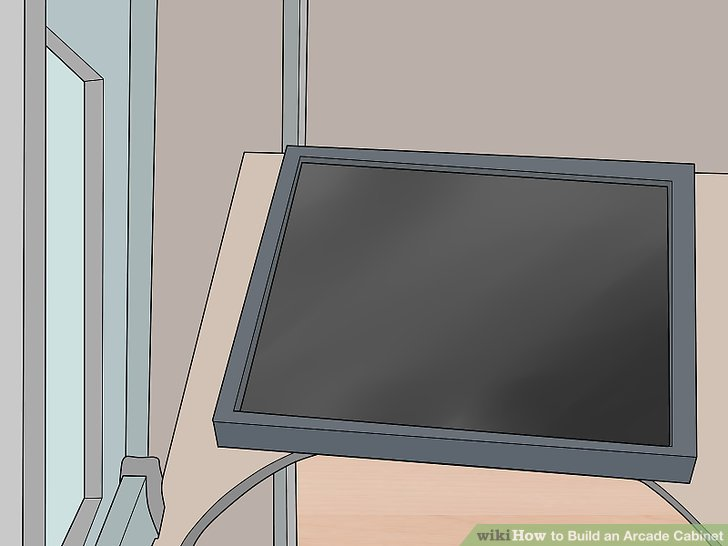 3 Ways to Build an Arcade Cabinet  wikiHow