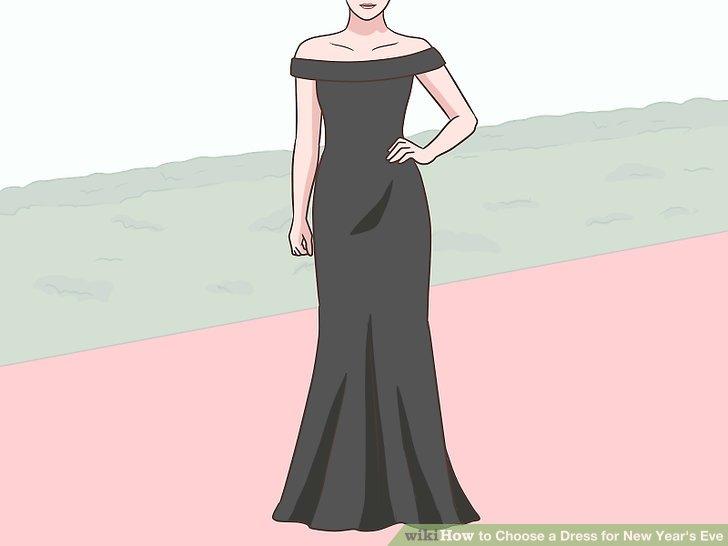 Wählen Sie ein langes Kleid, wenn Sie an einem Ball- oder Black Tie-Event teilnehmen.