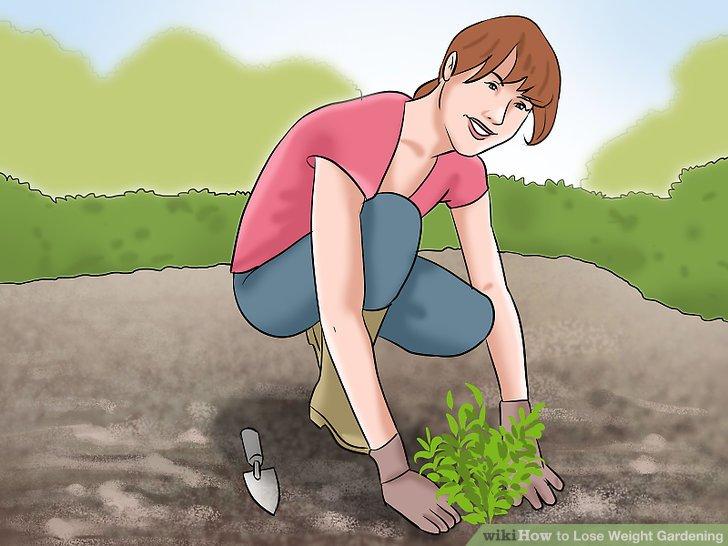 Mindestens 3 bis 5 Mal pro Woche 30 Minuten bis eine Stunde im Garten arbeiten.
