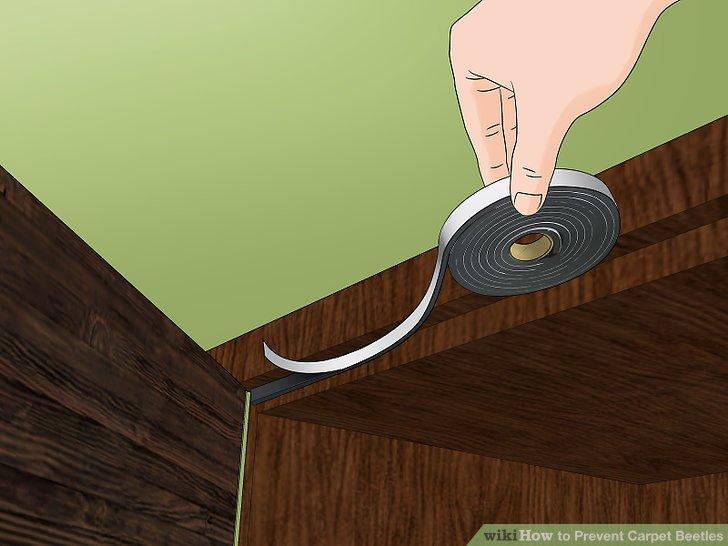 Löcher und Risse in Vorratsbehältern verschließen.
