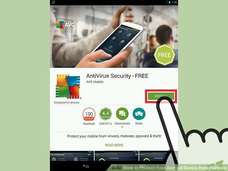 Laden Sie Ihre ausgewählte Antivirus-App herunter.