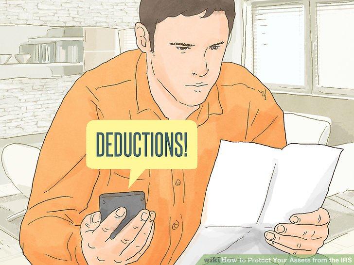 Maximize deductions.