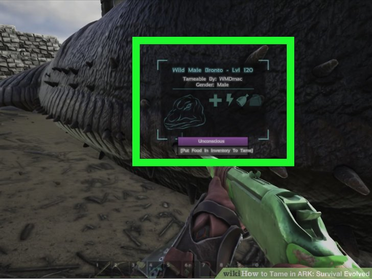how to how to tame in ark survival evolved