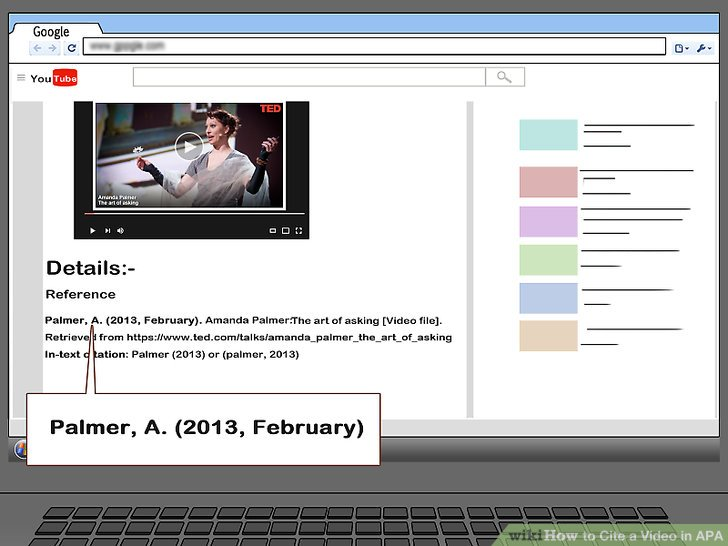 5 Ways To Cite A Video In APA WikiHow