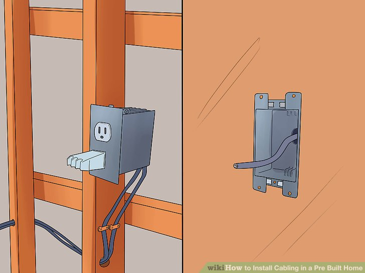 Wiring A Ethernet Wall Jack