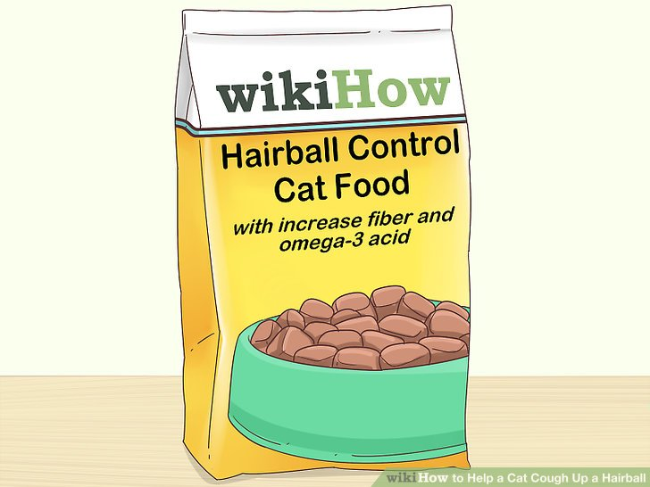 Try a hairball control cat food for a long-term solution.