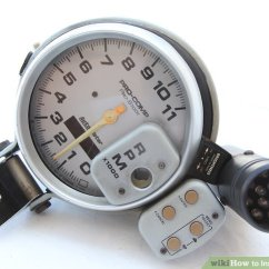 Honda Marine Fuel Gauge Wiring Diagram Vtec Oil Pressure Switch How To Install A Tachometer 8 Steps With Pictures Wikihow Image Titled Step 1