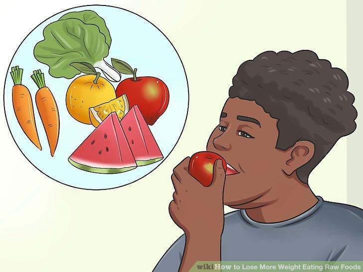 Fügen Sie mehr Obst und Gemüse hinzu.