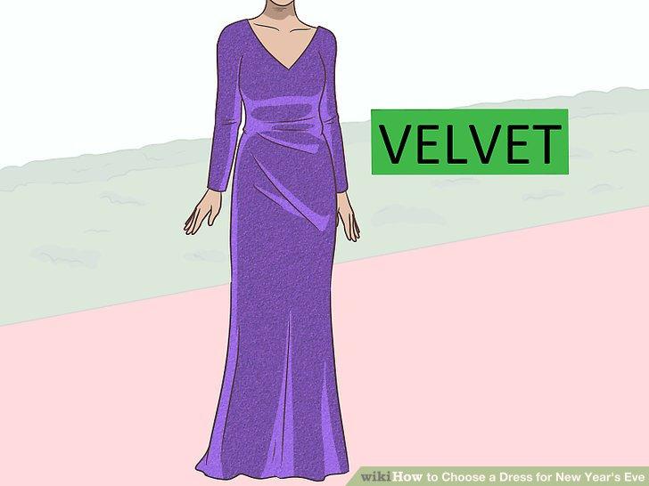 Wählen Sie ein Kleid aus Samt für einen stilvollen und warmen Look.