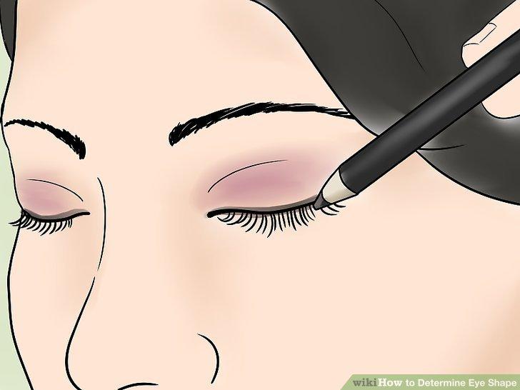 Beachten Sie die Besonderheiten bei kleinen oder großen Augen.