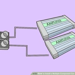 Wiring Diagram For Subs And Amp Intel Motherboard Circuit Pdf 6 Ways To Install A Multiple Component Car Audio System Wikihow Image Titled Step 4