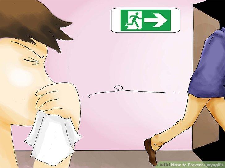 Halten Sie Abstand zu Personen, die von einer Erkältung angesteckt werden
