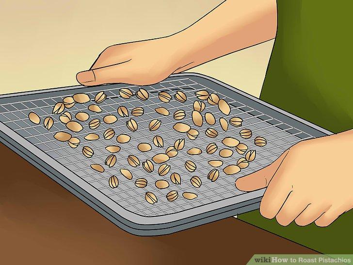 Roasting pistachios