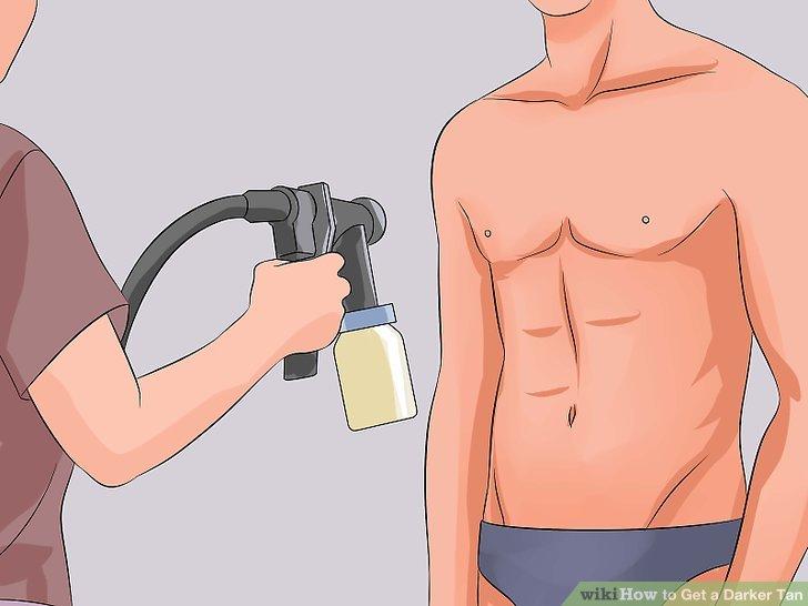 Entscheiden Sie sich stattdessen für eine Spraybräune.