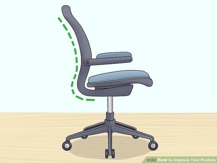 Find a supportive chair to help you maintain good posture.