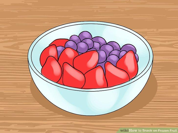 Wissen, welche Früchte gekühlt werden sollen.