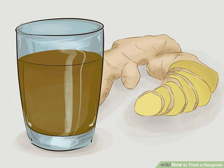 Düz zencefilli gazoz iç.