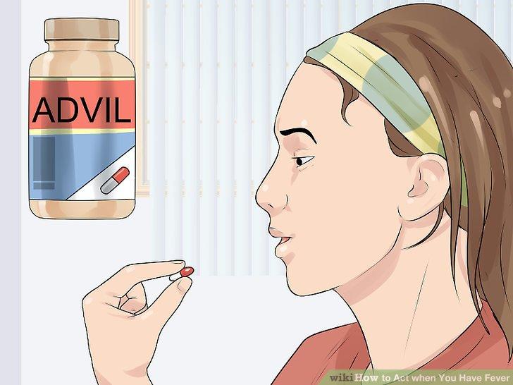 Nehmen Sie rezeptfreie Medikamente ein, um sich wohler zu fühlen.