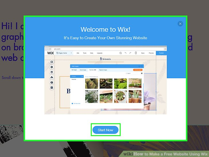How To Make A Free Website Using Wix 9 Steps With Pictures