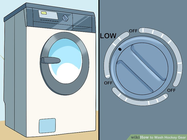 Dry your gear in the dryer on the low setting.
